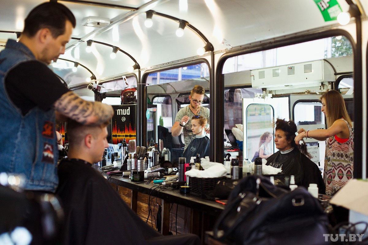 автобус-парикмахерская Dandy Bus